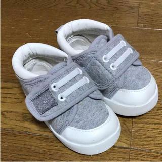 シマムラ(しまむら)の13.5 グレー スニーカー 上靴(スニーカー)