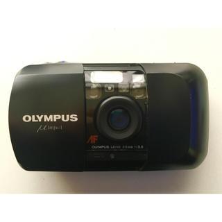 オリンパス(OLYMPUS)のOLYMPUS μ 初代機 35mmフィルムカメラ【希少価値】(フィルムカメラ)