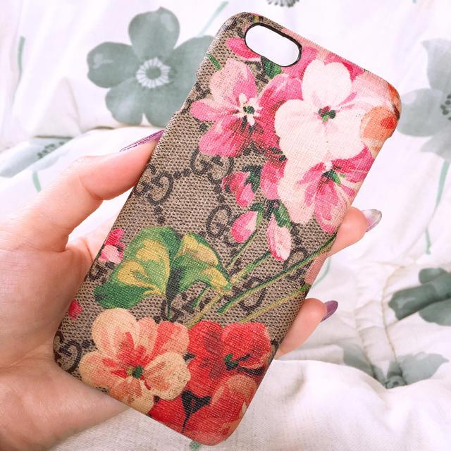 mcm iphone7 ケース xperia | Gucci - [milk様専用]GUCCI iPhone ケース ブルームス ※値下げの通販 by ゆあ|グッチならラクマ