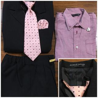 ヒロミチナカノ(HIROMICHI NAKANO)の男児スーツ130おまけ付き(ドレス/フォーマル)