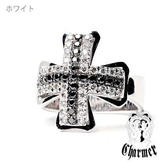 Charmerチャーマーエクスポジションk18ダイヤ チャーマークロスリング (リング(指輪))