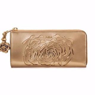 フルラ(Furla)のレア☆FURLA 90周年記念 限定コレクション長財布シャンパンゴールド 新品(長財布)