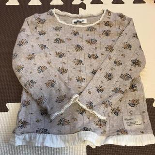ビケット(Biquette)のビケット*花柄トップス(Tシャツ/カットソー)