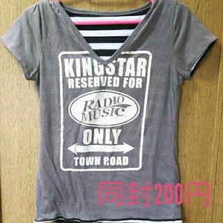 同封200円*リバーシブルTシャツ(Tシャツ(半袖/袖なし))