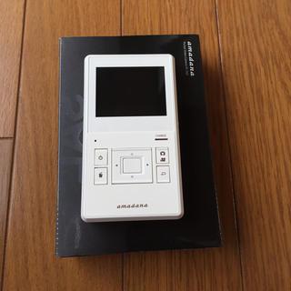 アマダナ(amadana)のアマダナ ポケットビデオカメラ 「SAL」  型番: VC-242  ホワイト(ビデオカメラ)