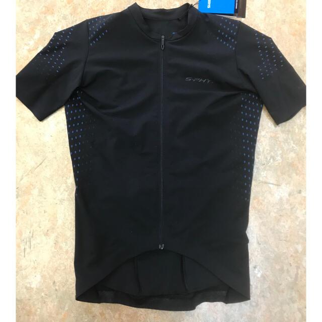 2018 SHIMANO S-PHYREプロ仕様サイクリングウェアー黒XLサイズ スポーツ/アウトドアの自転車(ウエア)の商品写真