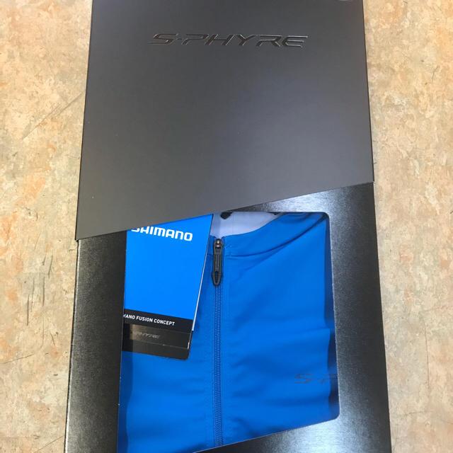 2018 SHIMANO S-PHYREプロ仕様サイクリングウェアー 青Lサイズ スポーツ/アウトドアの自転車(ウエア)の商品写真