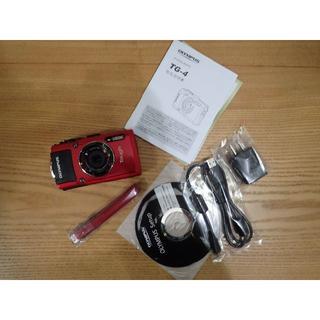 オリンパス(OLYMPUS)のTAKE29様専用オリンパス TG4(コンパクトデジタルカメラ)