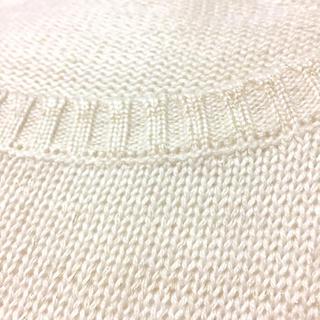 ハニーズ(HONEYS)のラメ入り 白ニット(ニット/セーター)