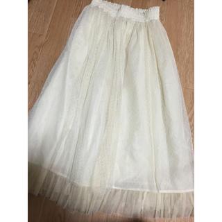 シークレットマジック(Secret Magic)のSecretMagiC ホワイトスカート(ロングスカート)