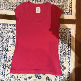 ザラ(ZARA)のZARA♡Tシャツ♡ピンク(Tシャツ(半袖/袖なし))