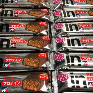 モリナガセイカ(森永製菓)のウィダーin バー プロテイン ベイクドチョコ 12本セット(プロテイン)