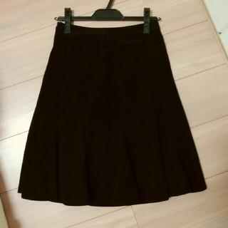 ブリリアントステージ(Brilliantstage)のベロア調スカート(ひざ丈スカート)
