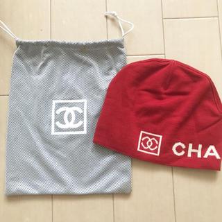 シャネル(CHANEL)のシャネル ニット帽(ニット帽/ビーニー)