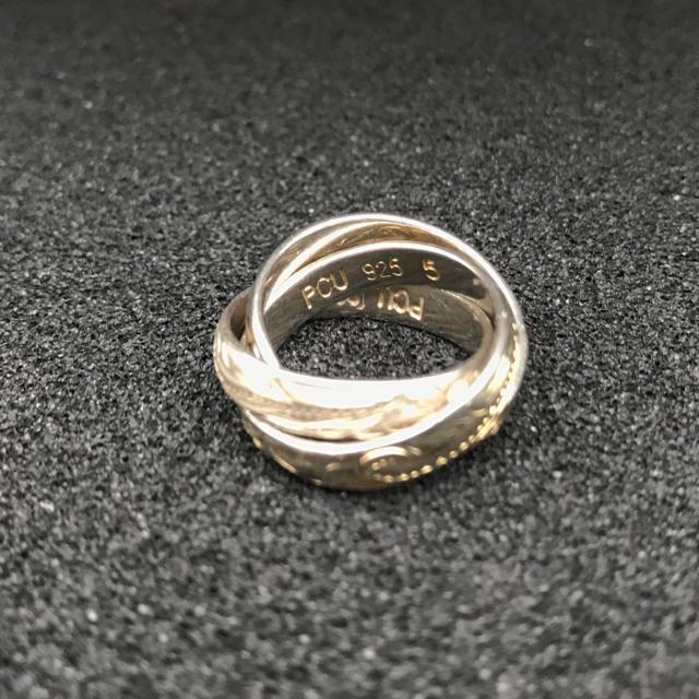 PCU ハワイアン シルバーリング メンズのアクセサリー(リング(指輪))の商品写真
