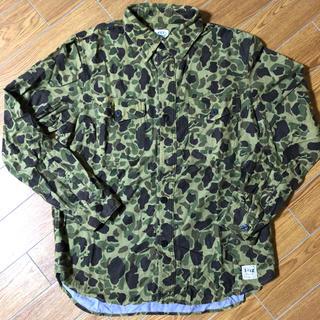 レイジブルー(RAGEBLUE)のKEY×RAGEBLUE 迷彩ネルシャツ(シャツ)