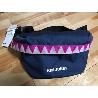 キムジョーンズ(KIM JONES)のGU×KIM JONES ジーユー×キムジョーンズ ウエストポーチ ネイビー(ウエストポーチ)