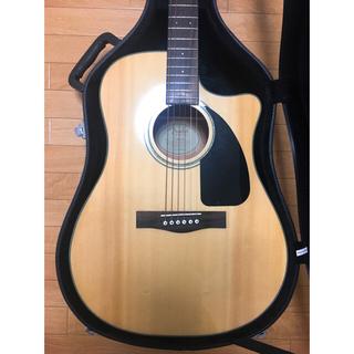 フェンダー(Fender)の【ナノ様専用】Fender CD60CE NAT アコースティックギター(アコースティックギター)