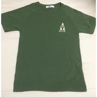半袖 Tシャツ ロゴ バックプリント ラグラン