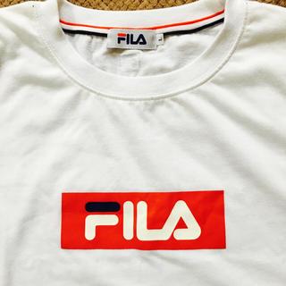 フィラ(FILA)のFILA★Tシャツ★新品★未使用★美品★トップス★白★ロゴ(Tシャツ(半袖/袖なし))