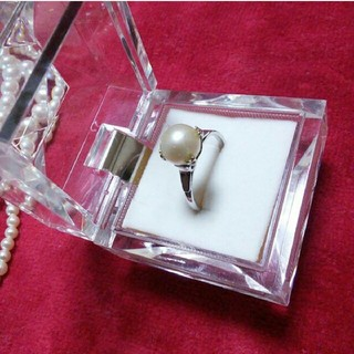 silver台☆パールリング(リング(指輪))