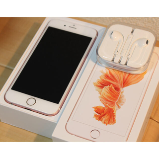 iPhone6s ローズゴールド 64G 美品美品!(スマートフォン本体)