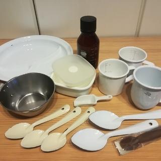 ムジルシリョウヒン(MUJI (無印良品))の《お値段⤵️》ホーロー製品 まとめて 中古品 無印など(調理道具/製菓道具)