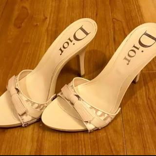 クリスチャンディオール(Christian Dior)の美品 ミュール Dior(ミュール)