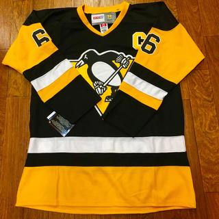 シーシーエム(CCM)の NHL ペンギンズ ルミュー ユニフォーム ジャージ ホッケー(ウインタースポーツ)