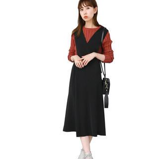 ケービーエフ(KBF)のKBF 人気完売 変形ジャンパースカート オールインワン ブラック マタニティ(マタニティワンピース)