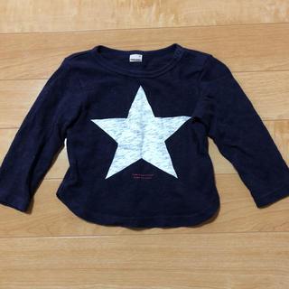 プティマイン(petit main)のpetitmain プティマイン 90 ロンT キッズ(Tシャツ/カットソー)