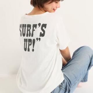 イエナスローブ(IENA SLOBE)のSLOBEIENA チャンピオン SURFSNOOPY Tシャツ 未使用(Tシャツ(半袖/袖なし))