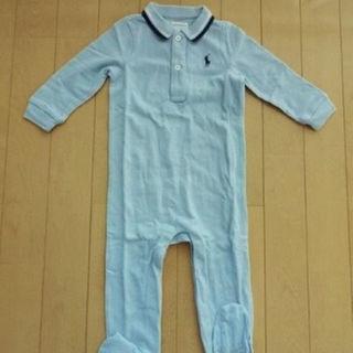 ラルフローレン(Ralph Lauren)の新品 ラルフローレン 長袖カバーオール 9M(70cm) ベビー 出産 ⑨(カバーオール)