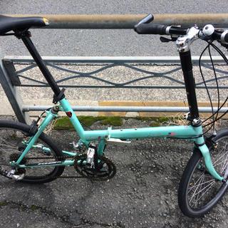 ケイエイチエスジャパン(KHS Bicycles)のKHSの折りたたみ小径車(自転車本体)