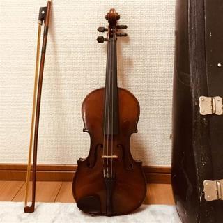 【黒杢/金装ラベル】1/8 スズキバイオリン No35 鈴木鎮一先生推薦(ヴァイオリン)