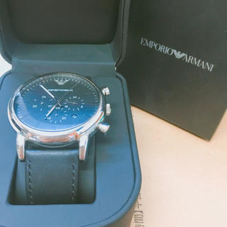 エンポリオアルマーニ(Emporio Armani)の腕時計(レザーベルト)