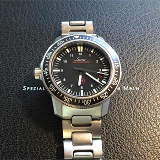 シン(SINN)のジン 603.EZM3 ダイバー デイト メンズ 腕時計   自動巻き 500m(腕時計(アナログ))