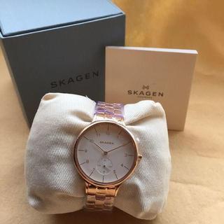 スカーゲン(SKAGEN)の新品 正規品 人気 ★ SKAGEN Anita ローズゴールド 腕時計(腕時計)