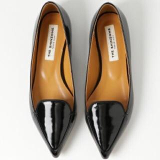 シンゾーン(Shinzone)のSHINZONE エナメルフラットシューズ(ローファー/革靴)