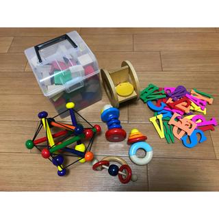 ボーネルンド(BorneLund)の積み木&木のおもちゃセット ボーネルンド他(積み木/ブロック)