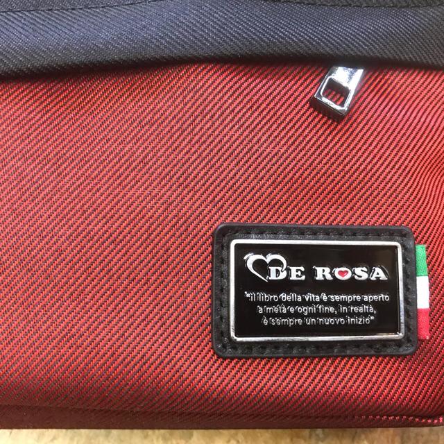 DEROSA デローザ ショルダーバッグ レッド 15×23×4cm スポーツ/アウトドアの自転車(その他)の商品写真