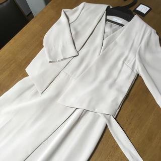 スタイルデリ(STYLE DELI)の【新品タグ付き】STYLE DELI*ジャケット付カシュクールワンピース(スーツ)