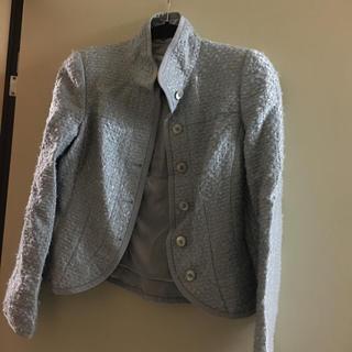 アルマーニ コレツィオーニ(ARMANI COLLEZIONI)のお上品なジャケット  ✴︎ アルマーニ コレツィオーネ 38(テーラードジャケット)