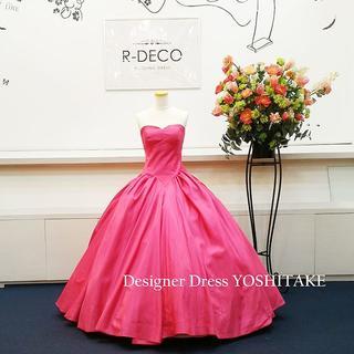 ウエディングドレス ピンク 披露宴/二次会(ウェディングドレス)