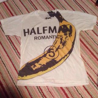 ハーフマン(HALFMAN)のHALFMAN バナナTシャツ(Tシャツ(半袖/袖なし))
