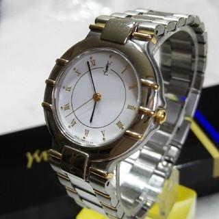 サンローラン(Saint Laurent)のイヴサンローラン腕時計 メンズクォーツ (腕時計(アナログ))
