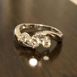 リング 指輪 ダイヤモンド 0.5カラット PT900 (リング(指輪))