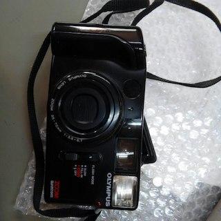 オリンパス(OLYMPUS)のオリンパス フィルムカメラ 日本製品 ジャンク扱い(フィルムカメラ)