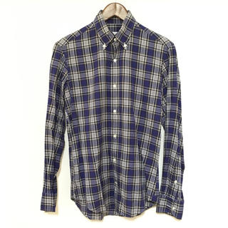 ギローバー(GUY ROVER)のGUY ROVER ギローバー チェックシャツ イタリア製(シャツ)