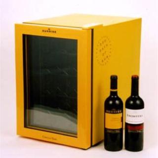 新品 Mercian ワインセラー 12本用 イエロー(ワインセラー)